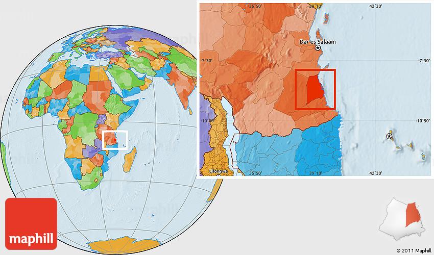 Political Location Map of Kilwa on great mosque of kilwa, calicut map, kalahari desert map, lake chad map, lake victoria map, gao map, guangzhou map, swahili coast map, cairo map, delhi india map, aden map, melaka map, timbuktu map, canton map, selous game reserve, taghaza map, mombasa map, baghdad on map, mecca map, sahara desert map, malindi map, djenne map,