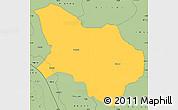 Savanna Style Simple Map of Mpanda