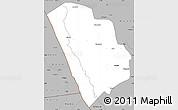 Gray Simple Map of Nkasi