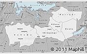 Gray Map of Shinyanga