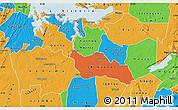Political Map of Shinyanga