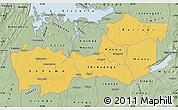 Savanna Style Map of Shinyanga