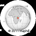 Outline Map of Singida