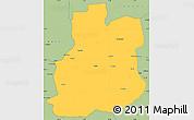 Savanna Style Simple Map of Urambo