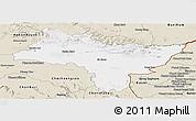 Classic Style Panoramic Map of Prachin Buri