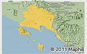 Savanna Style Panoramic Map of Trat