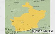 Savanna Style Panoramic Map of Buri Rum