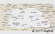 Classic Style Panoramic Map of Northeastern