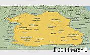 Savanna Style Panoramic Map of Northeastern