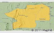 Savanna Style Panoramic Map of Centre