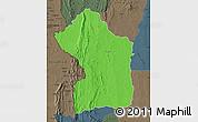 Political Map of Sotouboua, darken, semi-desaturated