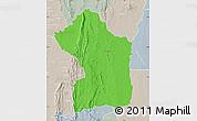 Political Map of Sotouboua, lighten, semi-desaturated