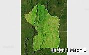 Satellite Map of Sotouboua, darken