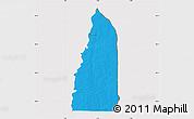 Political Map of Tchamba (Nyala), cropped outside