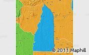 Political Map of Tchamba (Nyala)