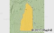 Savanna Style Map of Tchamba (Nyala)
