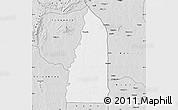 Silver Style Map of Tchamba (Nyala)