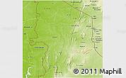 Physical 3D Map of Kara