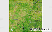 Satellite 3D Map of Kara
