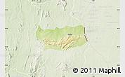 Physical Map of Assoli, lighten