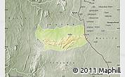 Physical Map of Assoli, semi-desaturated