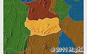 Political Map of Assoli, darken