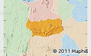 Political Map of Assoli, lighten