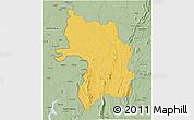Savanna Style 3D Map of Bassar