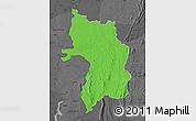 Political Map of Bassar, darken, desaturated