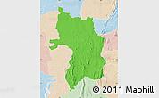 Political Map of Bassar, lighten