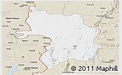 Classic Style Panoramic Map of Bassar