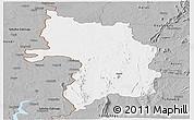 Gray Panoramic Map of Bassar
