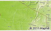 Physical 3D Map of Keran