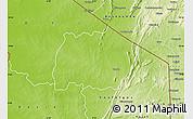 Physical Map of Keran