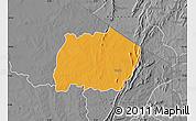 Political Map of Keran, desaturated