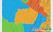 Political Map of Keran