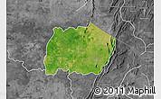 Satellite Map of Keran, desaturated