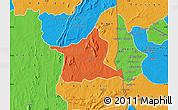 Political Map of Kozah