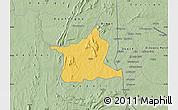 Savanna Style Map of Kozah