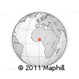 Outline Map of Kozah