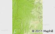 Physical Map of Kara