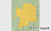 Savanna Style Map of Kara