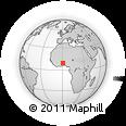 Outline Map of Kara