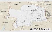 Classic Style Panoramic Map of Kara