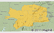 Savanna Style Panoramic Map of Kara