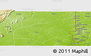 Physical Panoramic Map of Haho
