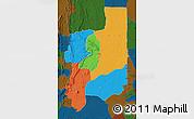 Political Map of Plateaux, darken