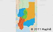 Political Map of Plateaux, lighten