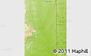 Physical Map of Ogou