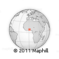 Outline Map of Ogou